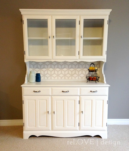 White Kitchen Buffet: China Cabinets And Hutches