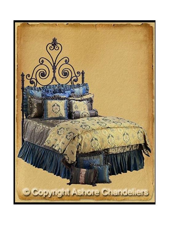 Beds - http://ashorechandeliers.com/beds1.html