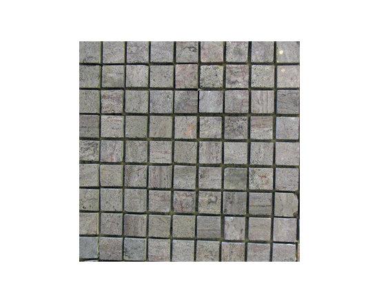 "1""x1"" Cherry Blossom Natural Stone Mosaic -"