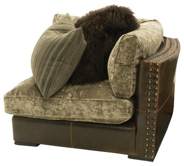Aberdeen Sectional Sofa Corner Unit Traditional