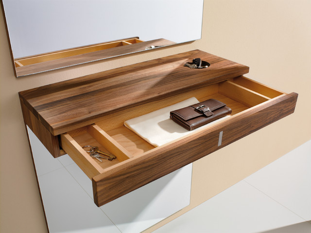 Hallway console drawers - Contemporary - Display And Wall Shelves - london - by Wharfside