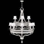 Fine Art Lamps Black + White Story 807240-5ST contemporary-chandeliers
