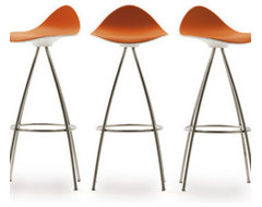 ONDA Swivel Bar Stool | Funktionalley contemporary-bar-stools-and-counter-stools