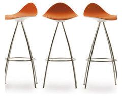 ONDA Swivel Bar Stool contemporary-bar-stools-and-counter-stools