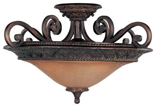 Maxim Symphony Ceiling Light - 22.5W in. Oil Rubbed Bronze traditional-ceiling-lighting