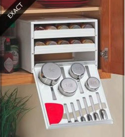 Exact Spice Rack modern-cabinet-and-drawer-organizers