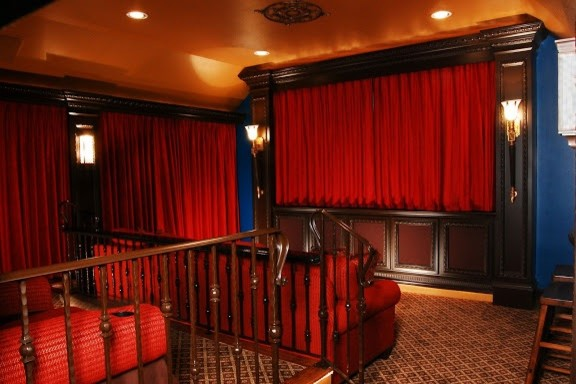Theater Room Traditional Home Theater Houston By