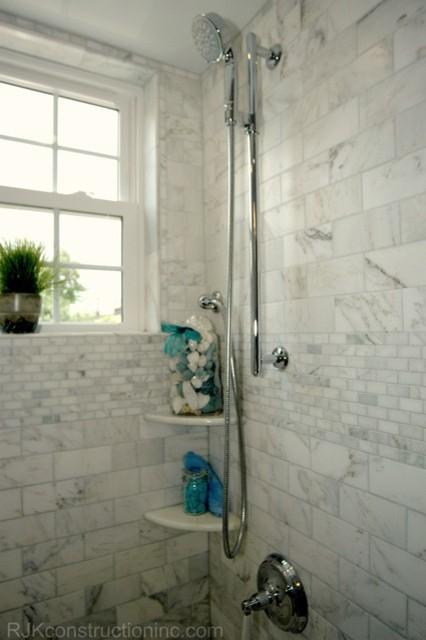 Cape Cod Chic Bathroom traditional-bathroom