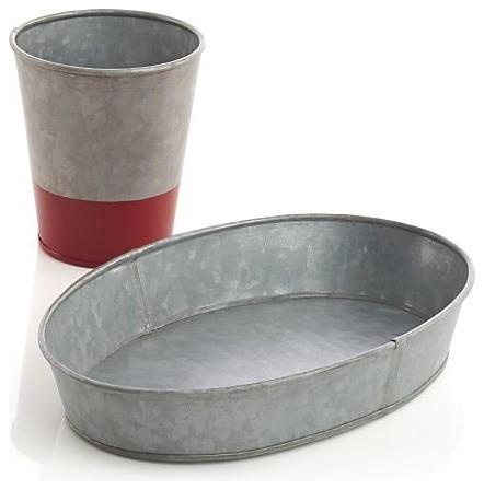 Hot Dog Basket contemporary-baskets