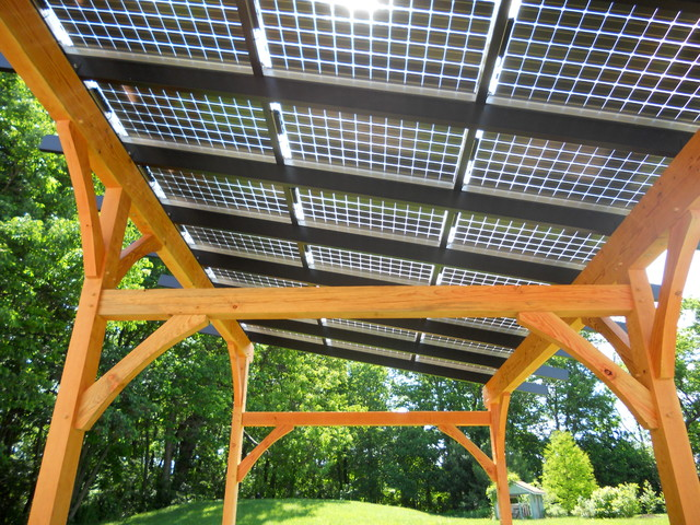Solar Pergola - Traditional - philadelphia - by Hugh ...