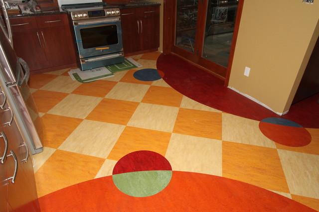Removing kitchen tile floor