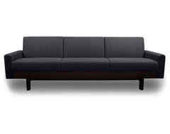 Paddington Dark Grey 3-Seat Couch modern sofas