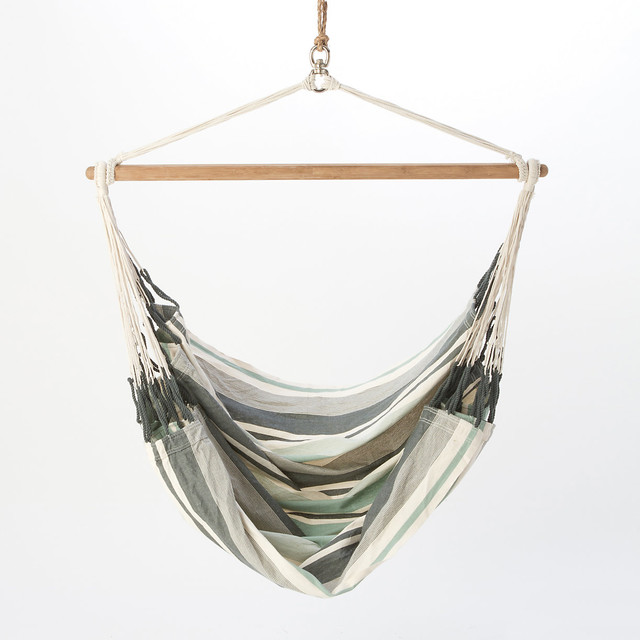 Hanging Hammock Chair, Blue - Contemporary - Hammocks And Swing Chairs ...
