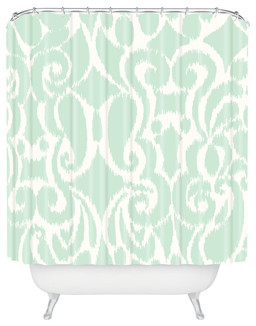 Khristian A Howell Eloise Shower Curtain contemporary-shower-curtains