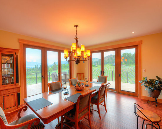 Dining Rooms | Brighten Your Meal - Private Residence in Summerland, BC | Innotech Windows Canada, Inc.