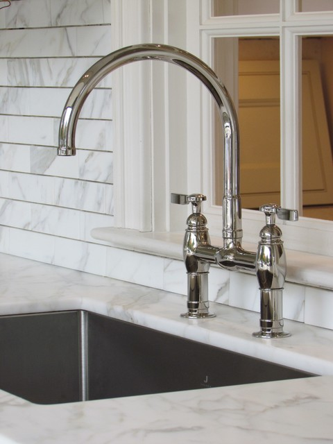 Kohler Bridge Faucet Traditional Kitchen Faucets Boston By Architectural Kitchens Inc