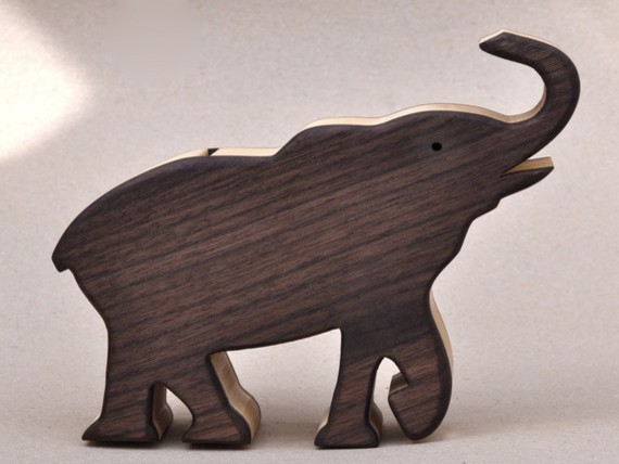 Elephant Piggy Bank by Arks and Animals modern-kids-toys