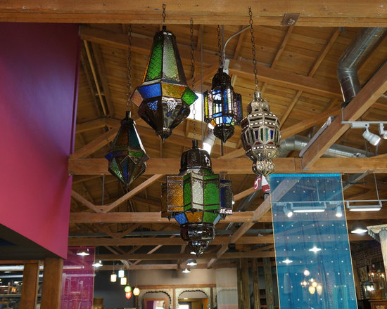 Cluster of Moroccan lanterns -