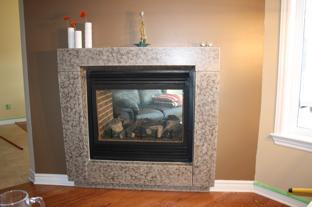 Fireplace Mantel - Contemporary - Indoor Fireplaces ...