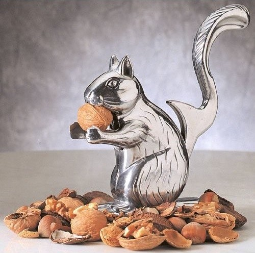 RSVP Nutty Squirrel Nutcracker eclectic serveware
