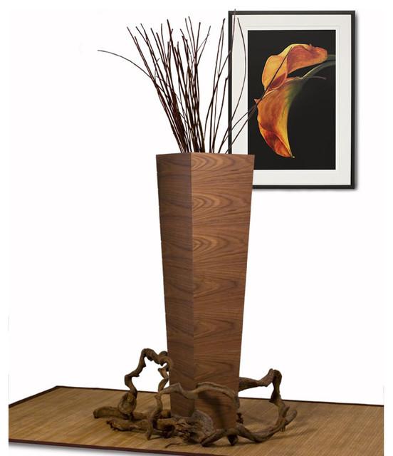 Accent Flower Floor Vase Modern Vases By Modern