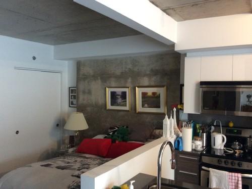 quels mat riaux utilis s pour s parer deux pi ces sur un demi mur. Black Bedroom Furniture Sets. Home Design Ideas