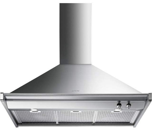 36 Inch Range Hood ~ Smeg classic inch wall mount vent hood stainless