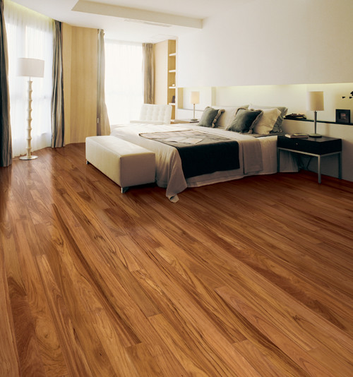 Doussie Engineered Floor Contemporary Other Metro By
