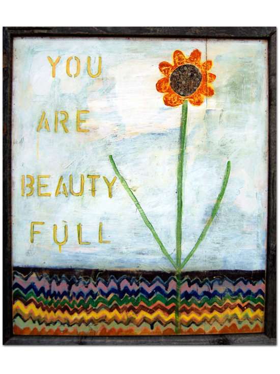 """""""You Are Beauty Full"""" Art Print by Sugarboo Designs -"""