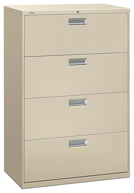 HON Brigade Lateral File - 4 Drawer - Contemporary - Filing Cabinets And Carts - by Rulers