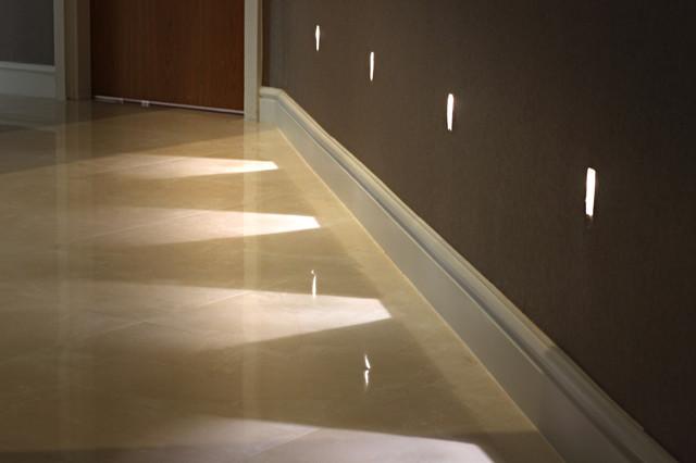 contemporary hallway renovation