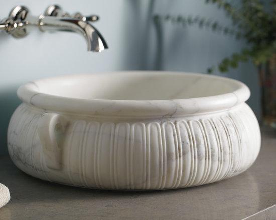 Kasos Round Decorative Vessel by Michael S Smith -