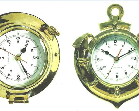 Brass Nautical Clocks -