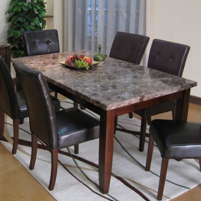 torleone ii solid stone rectangular dining table modern dining tables