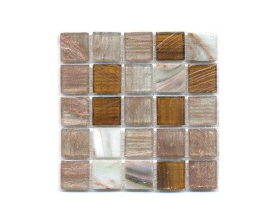 Copper Mix Glass Mosaic -