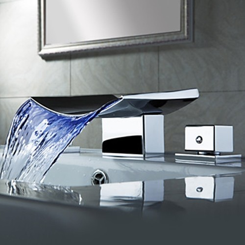 Waterfall Faucets modern-bathroom-faucets-and-showerheads
