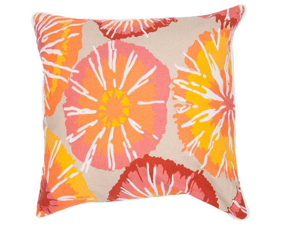 Jaipur Nerine Putty Throw Pillow