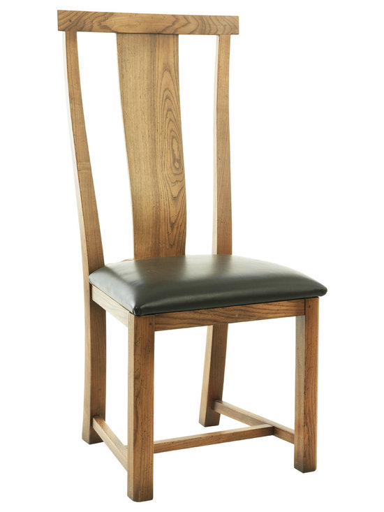 Curved Splat Upholstered Dining Chair - Curved Splat Upholstered Dining Chair