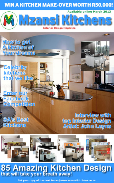 Mzansi kitchens magazine contemporary other metro by for Houzz magazine
