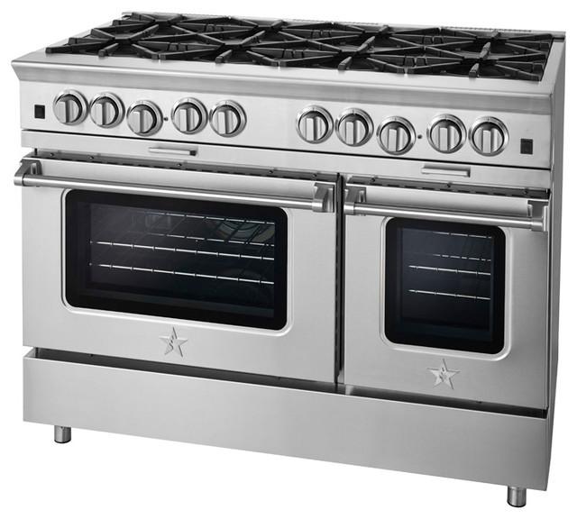 BlueStar Platinum Series: 8 Burners - Modern - Gas Ranges And Electric Ranges - philadelphia ...