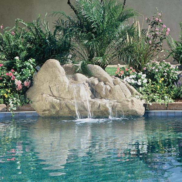 Inter Fab Taos Rock Waterfall Tropical By