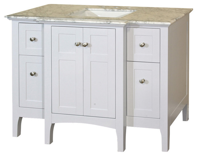 vanity wood white cabinet only contemporary bathroom vanities and sink