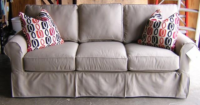 Rowe Nantucket Slipcover Sofa Loveseat Chair And Ottoman