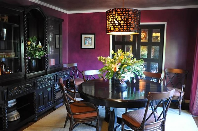 Colorfully Eclectic Living eclectic-dining-room