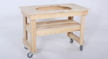 Primo Compact Cypress Table For Oval Xl Traditional