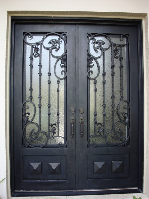 Security doors elegant entries custom security doors for Puertas metalicas exterior