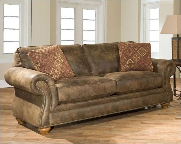Broyhill Laramie 3 Piece Queen Sleeper Sofa Set In Olive