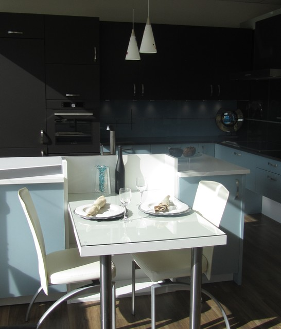 Blue Kitchen Cabinets on Houzz