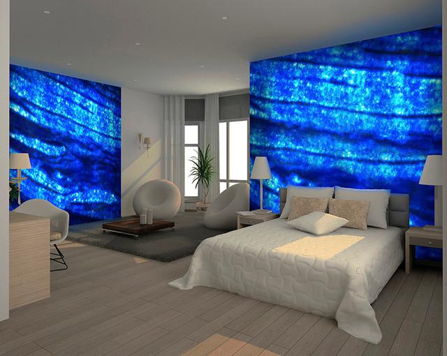 Various aplications modern-bedroom