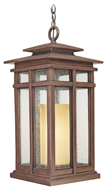 """Cottage Grove Collection 24 1/2"""" High Outdoor Hanging Light traditional-outdoor-lighting"""